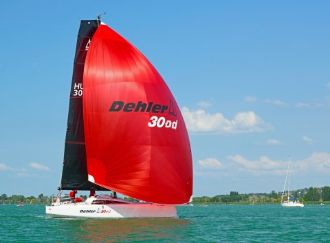 Dehler 30 one design Hungary high performance sailing