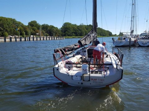Playtime family sailing with kids