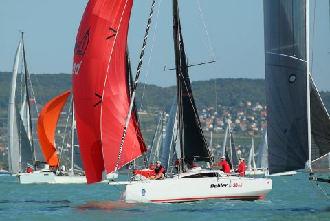 Dehler 30 one design Hungary practice for olympics
