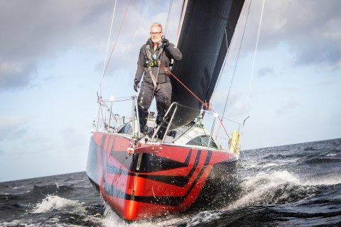 Crazy Boats - Andreas Deubel auf dem Bug