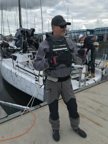 Anders Jönsson SWE41 No Xcuse mixed offshore double handed boat