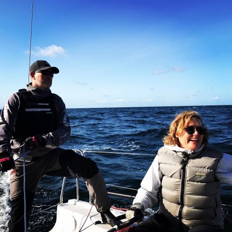 Anders Jönsson SWE41 No Xcuse mixed offshore double handed woman