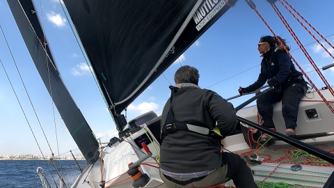 Team Aether GRE 016 offshore sailing team double