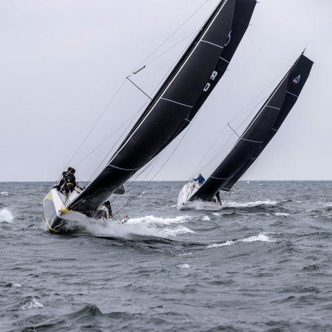 don't be in dirty air while sailing