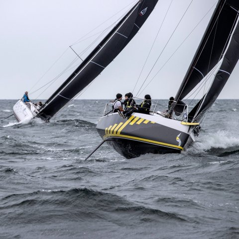 the more you do high edge sit sailing, the more you gain
