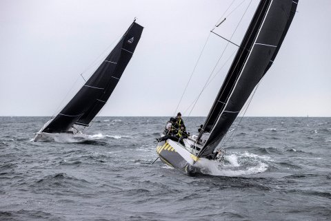 being the leeward boat is important for offshore racing