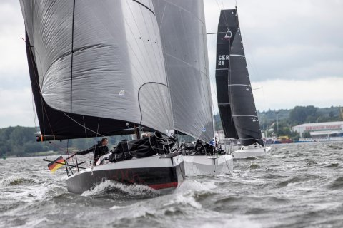 youth sailing to practice for olympics