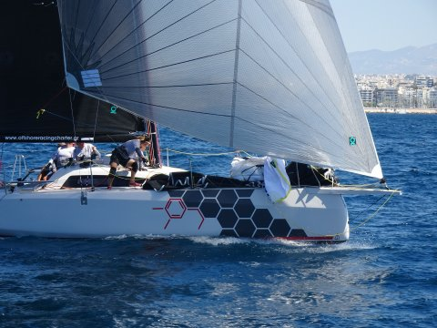 Team Aether GRE 016 offshore sailing team code zero sailing