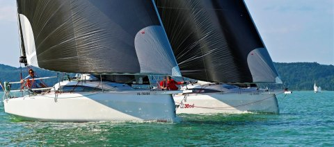 Dehler 30 one design Hungary training for olympic