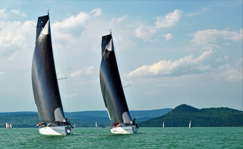 Dehler 30 one design Hungary fast downwind