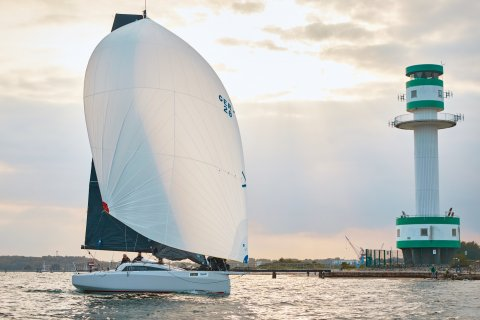 Dehler 30 one design Kieler Woche 2020 light house