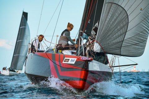 Dehler 30 one design Kieler Woche 2020 Crazy Boats