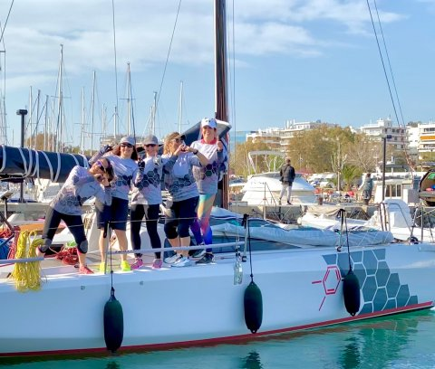 Evi Delidou all female Sailors on Team Aether