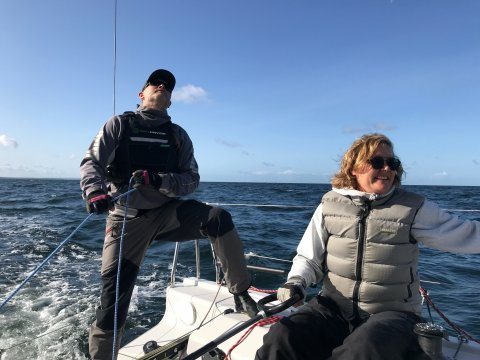 Anders Jönsson SWE41 No Xcuse mixed offshore double fast