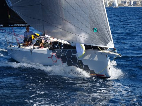 Dehler 30 one design team aether