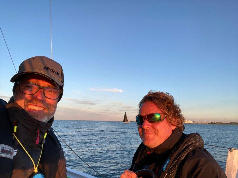 smile during sailing