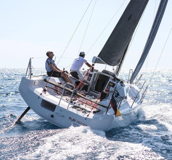 News Dehler 30 one design play harder in action