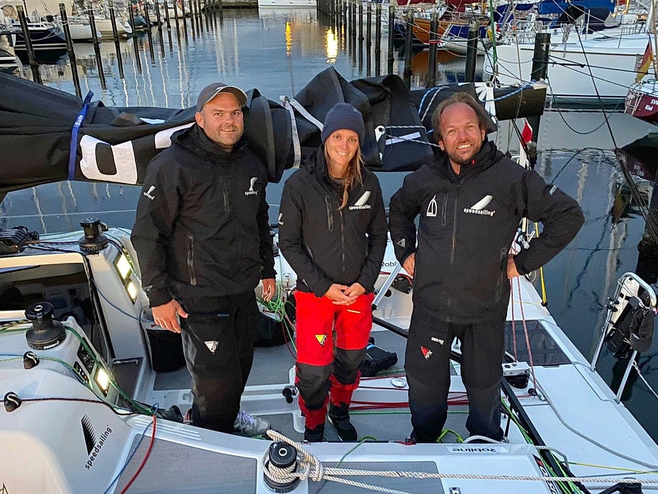 Team Speedsailing mixed offshore youth