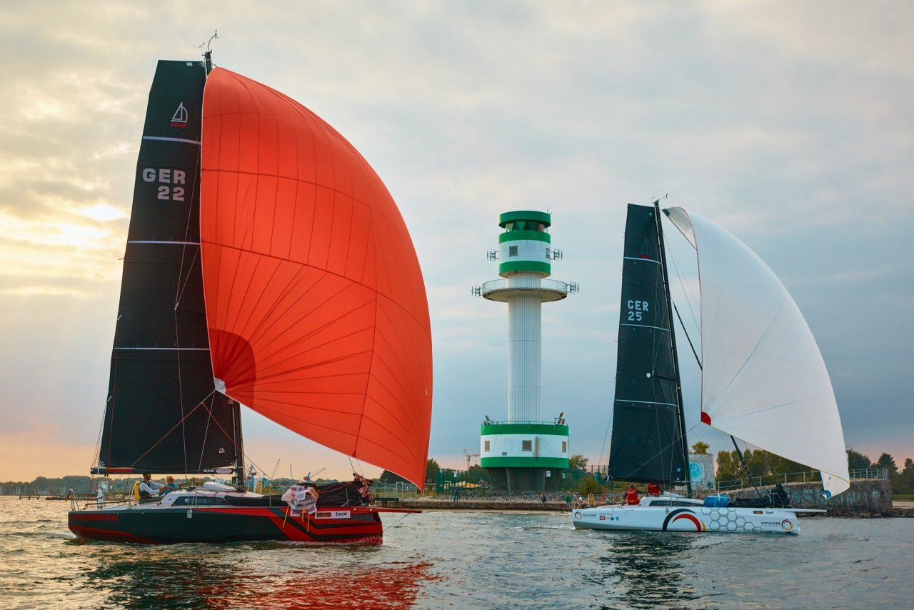 double handed, mixed offshore und single handed sailing, mixed, offshore races