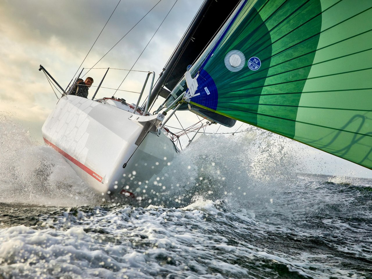 double-handed offshore race sailing dehler 30od