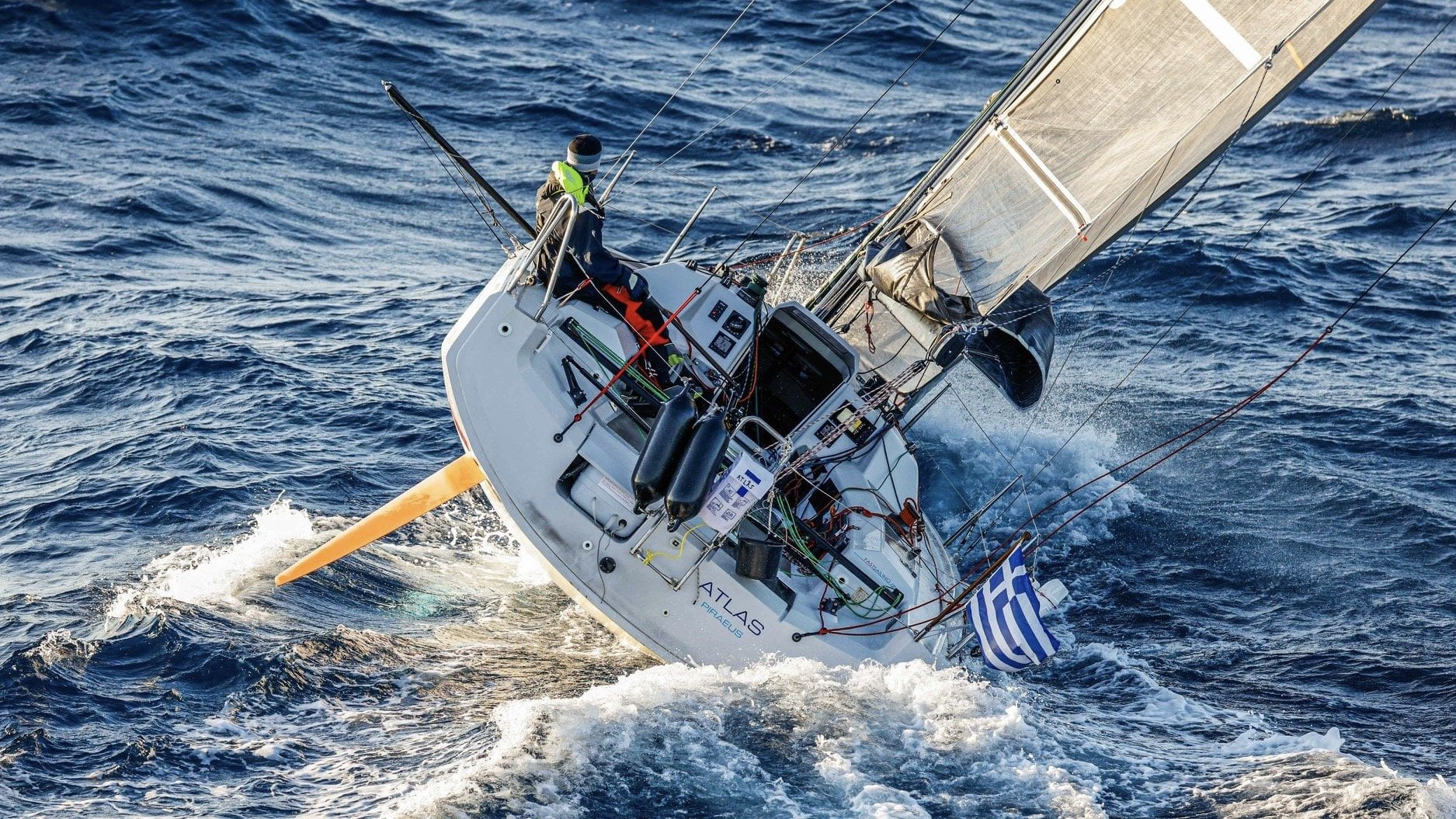 Dehler 30 one design racing in Greece